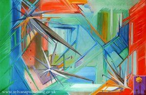 Shards painting by Arneldo
