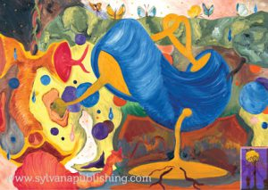 Frenzy - oil painting by Arneldo