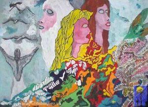 Chaos painting by Arneldo