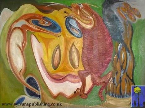 Parasites painting by Arneldo