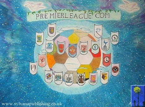 The Beautiful Game painting by Arneldo