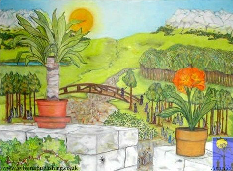 The Bridge painting by Arneldo