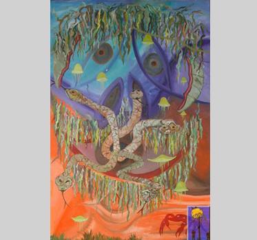 Vanities and Lies oil painting by Arneldo