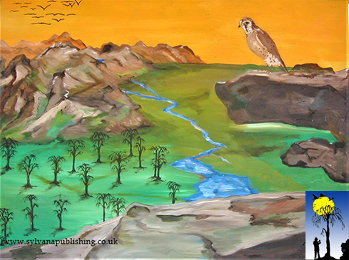 The Lookout - original oil painting by Arneldo